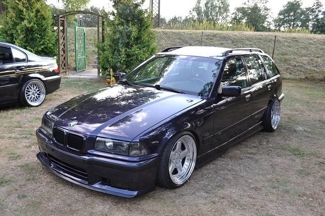 bmw e36 touring on oz ac schnitzer type 1 wheels bmw. Black Bedroom Furniture Sets. Home Design Ideas