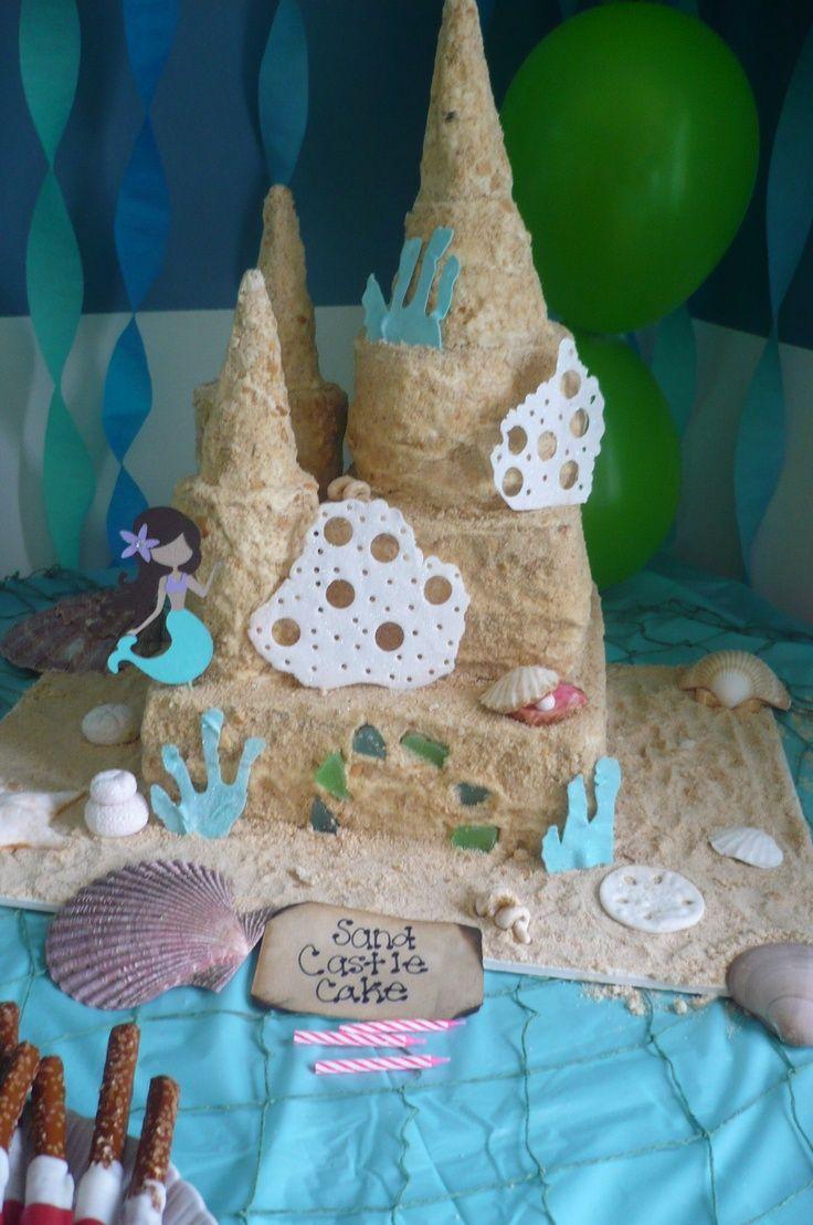 Sand Castle Cake Sand Castle Cake 7 Menu Healthy Food