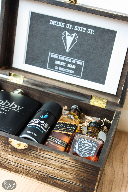 diy groomsmen boxes | groomsmen gifts | pinterest | groomsmen boxes