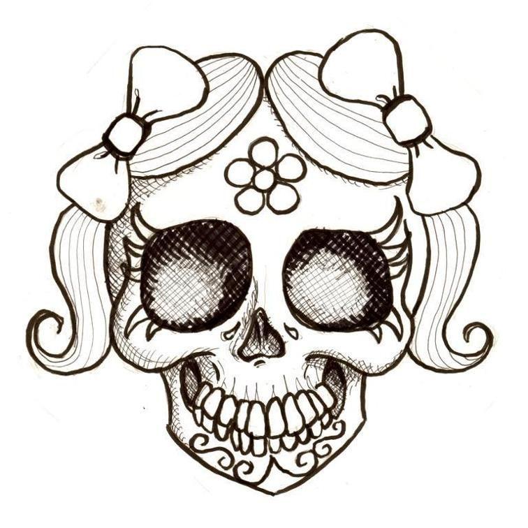 Day of the Dead Girl Jaunita