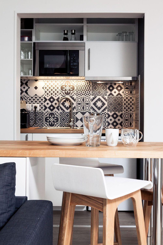 Photo petite cuisine : ces 20 petites cuisines qui ont du charme