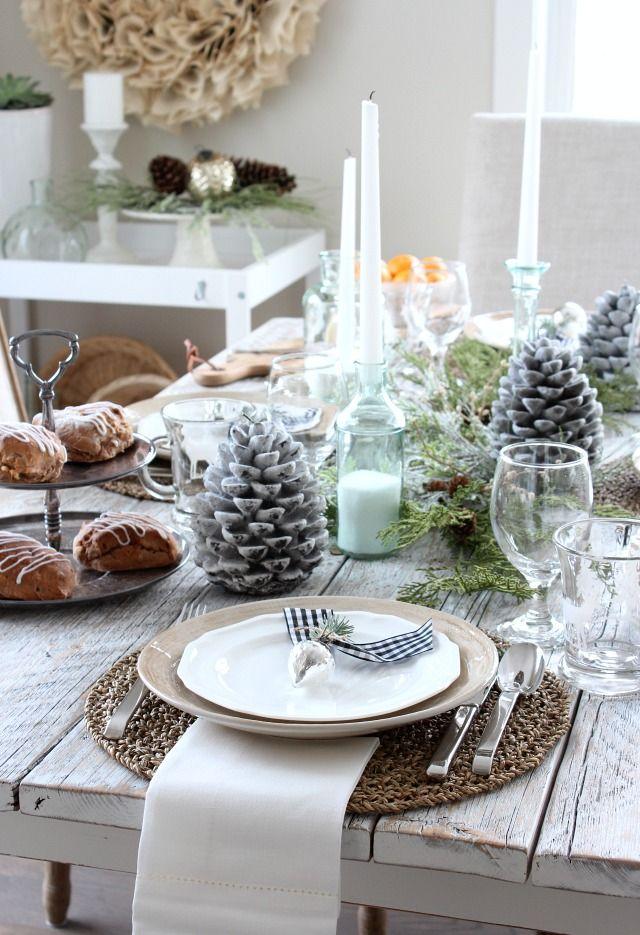 Canadian White Christmas Home Tour Holidays, Seasonal decor and