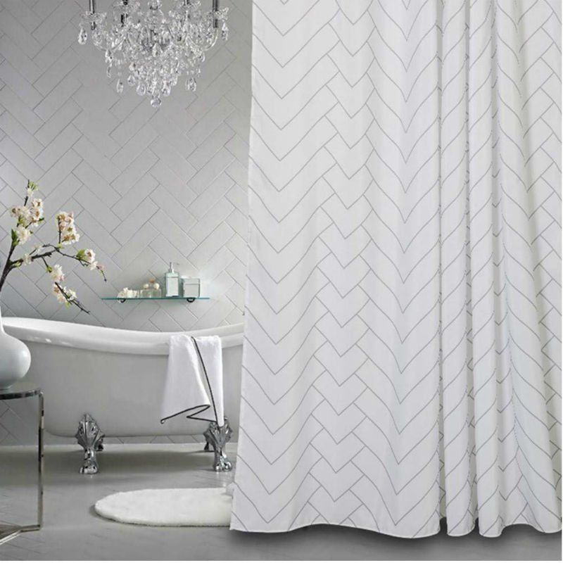 Bathroom Decor Shower Curtain The 6 Best Shower Curtains According To Happy Homeowners Bob Vila 2020 Banyo Perdeleri Banyo Dus Perdeleri Banyo Dekorasyonu