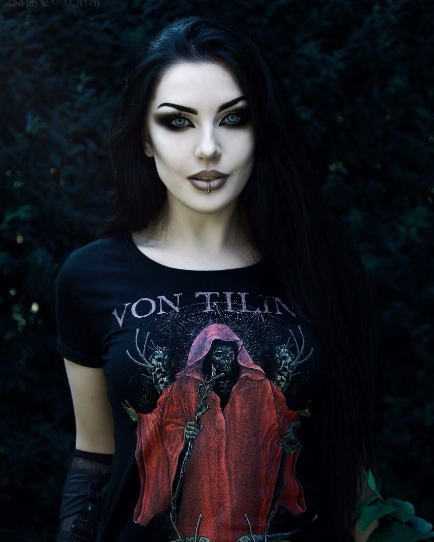 """Gothic Goth Girl Fashion: Baph O Witch💀 (@baphowitch) On Instagram: """"Model/ MUA"""