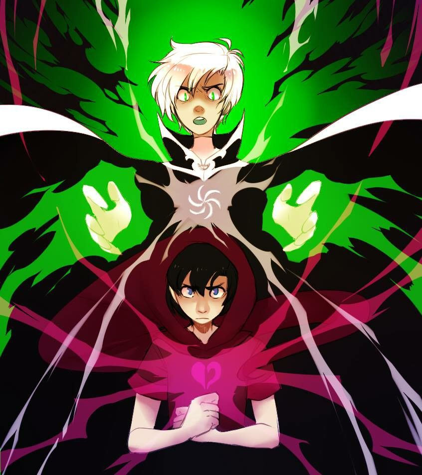 Danny Phantom / Homestuck crossover<<THIS IS AMAZING