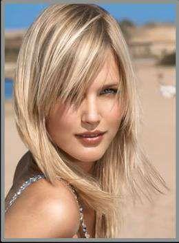 17 Best images about Cheveux courts et longs blonds on Pinterest ...