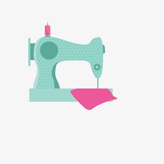 Elementos De Maquinas De Costura Vector Maquina De Costura