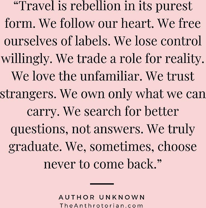 Photo of 13 Travel Quotes to Feed Your Wanderlust — The Anthrotorian