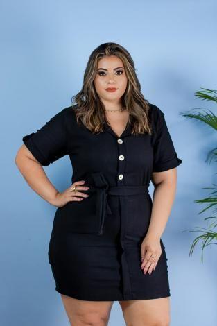 e9671c153 Vestido Plus Size Botão Lindo Roupas Femininas - Bellucy modas - Magazine  Simplepurchase