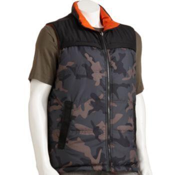 Helix Camouflage Vest - Men - $15x0.8=12