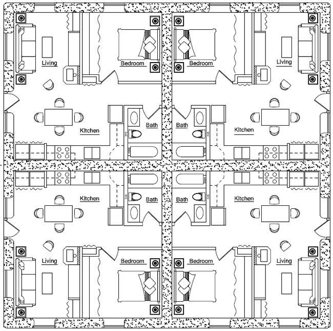 Duplex Floor Plans Apartment