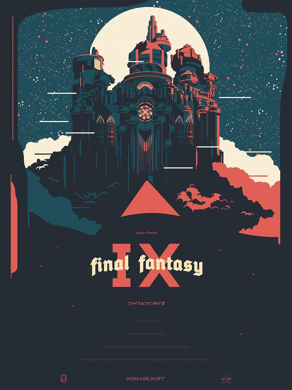 fantasy posters final fantasy ix