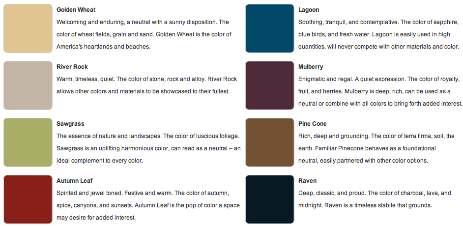The Role Of Color In Healing Environments Nature Color Palette