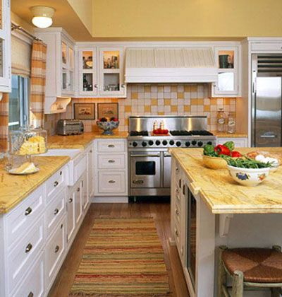 White Kitchen Yellow Cabinets yellow white kitchen | winda 7 furniture