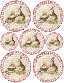 Free Graphics - Lilac & Lavender: Sweet Bunny & Chicks