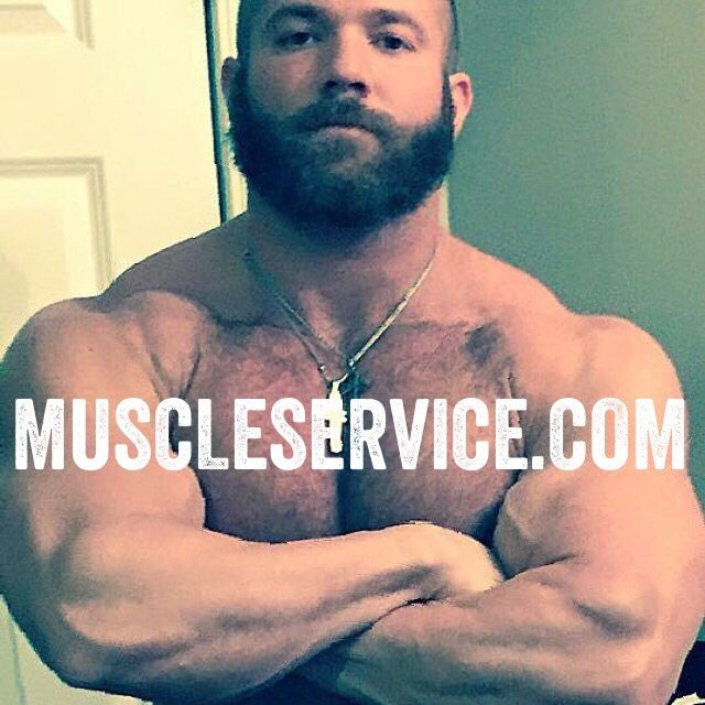 want muscular hunk sucking on several cocks fit the bill