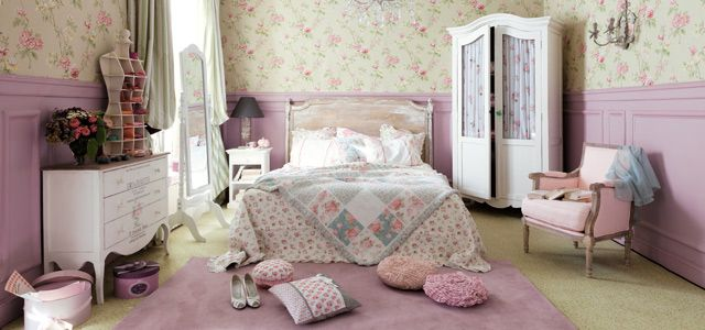 d coration maison du monde shabby chic style lifestyle. Black Bedroom Furniture Sets. Home Design Ideas