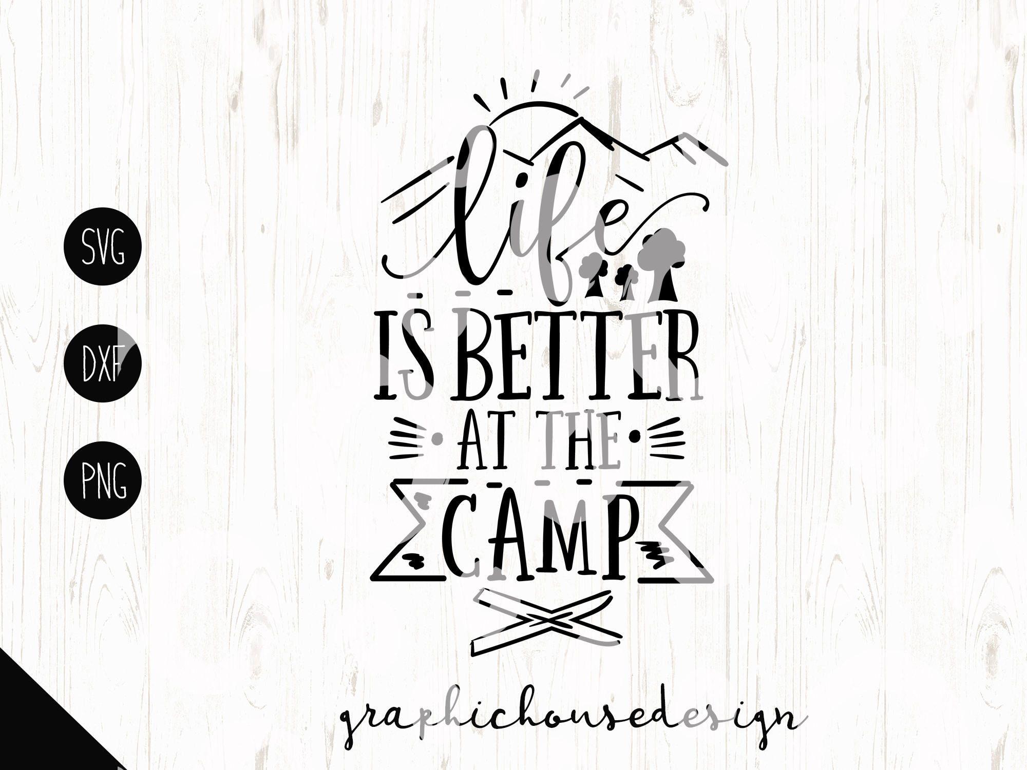 Camping Svg Camper Cut File Camper Stencil Camper Sign T
