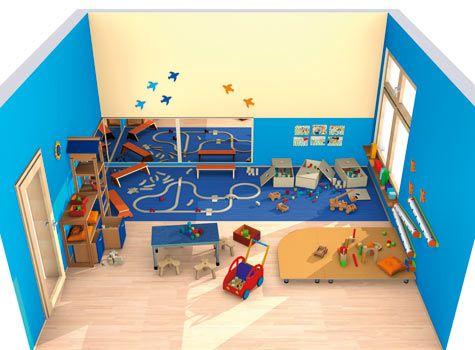 Bauraum spielen bauen raumkonzepte kinder unter 3 for Raumgestaltung kita u3