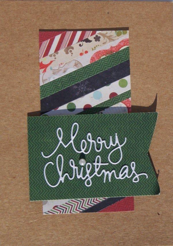 Vive, Crea, Scrapea: Tarjetas de Navidad Craft y Etiquetas