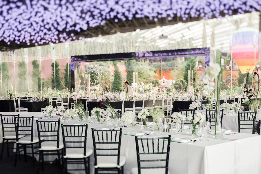 terry and guozis architecture inspired wedding at flower field hall