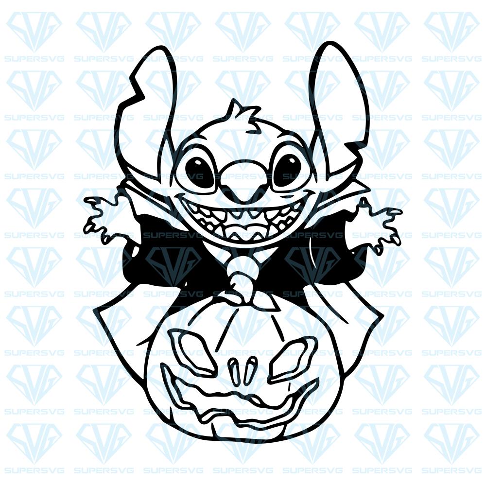 Halloween stitch, Disney, lilo and stitch, SVG Files For