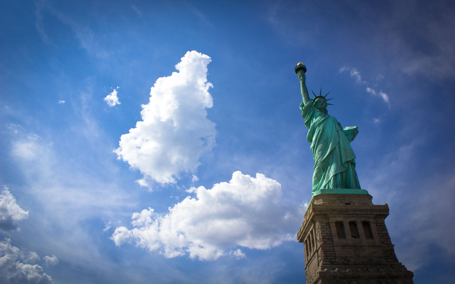 Hd wallpaper usa - Hd Wallpaper Usa New York Statue Usa Wallpaper