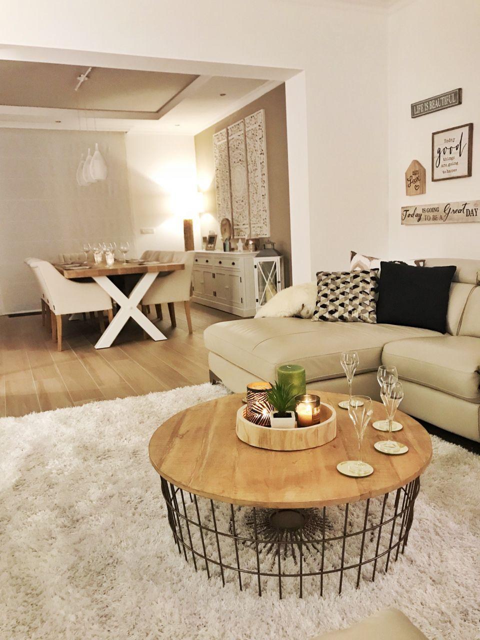 Table De Salon Leenbakker Et Tapis De Chez Maison Du Monde