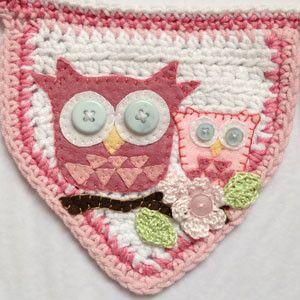Crochet Owl Baby Bunting Pattern : crochet owl bunting Crochet Applique Inspiration ...