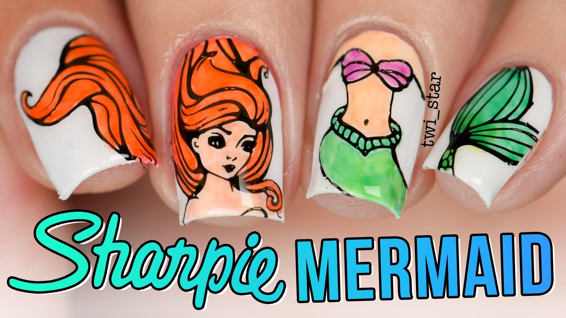 Pin by twi_star on twi_star Nail Art | Mermaid nails ...