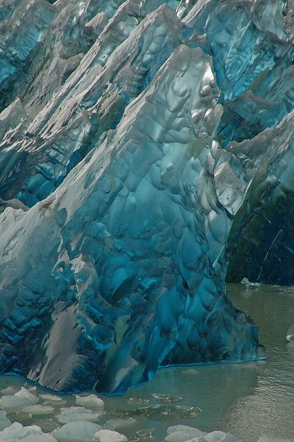 Blue iceberg, Lago Grey