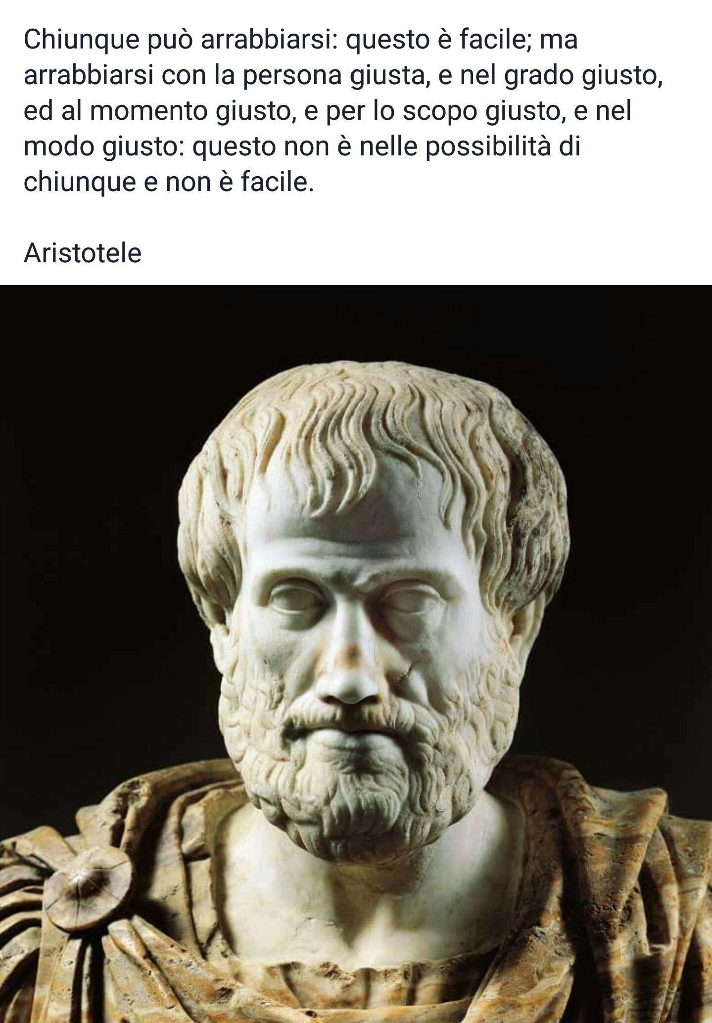 Aristotele Filosofi Antichi Citazioni Parole E