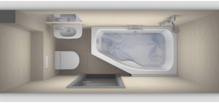 Kleinste badkamer met bad? - Kleine badkamers | Home decor I lov ...