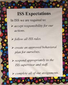 In School Suspension Classroom Setup Google Search In School Suspension High School Classroom Teacher Classroom