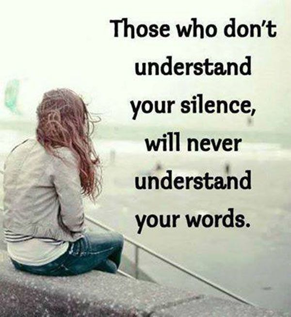 Understanding Quotes Importance Of Understanding Silence  Quotes  Pinterest