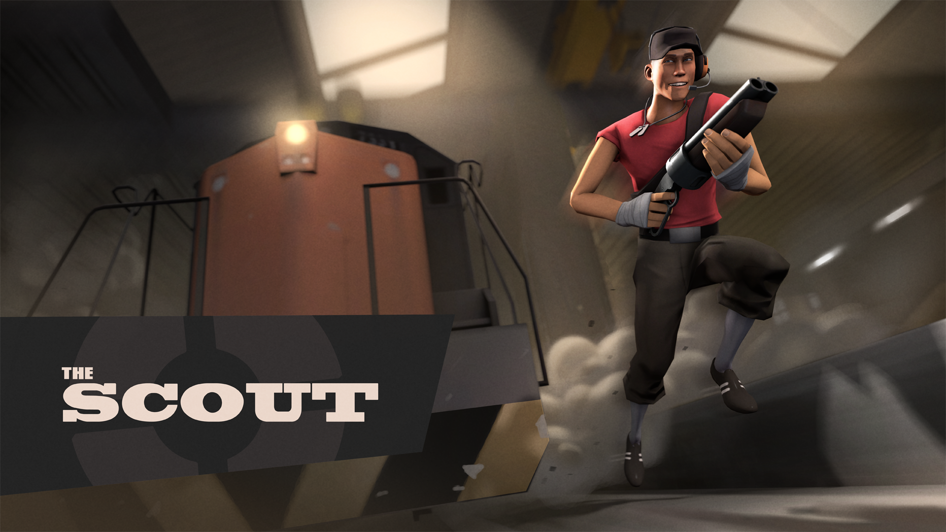 Steam Game Card Wallpaper Scout Cromos De Steam Official Tf2 Wiki Official Team Fortress Wiki Team Fortress 2 Team Fortress Fortress 2