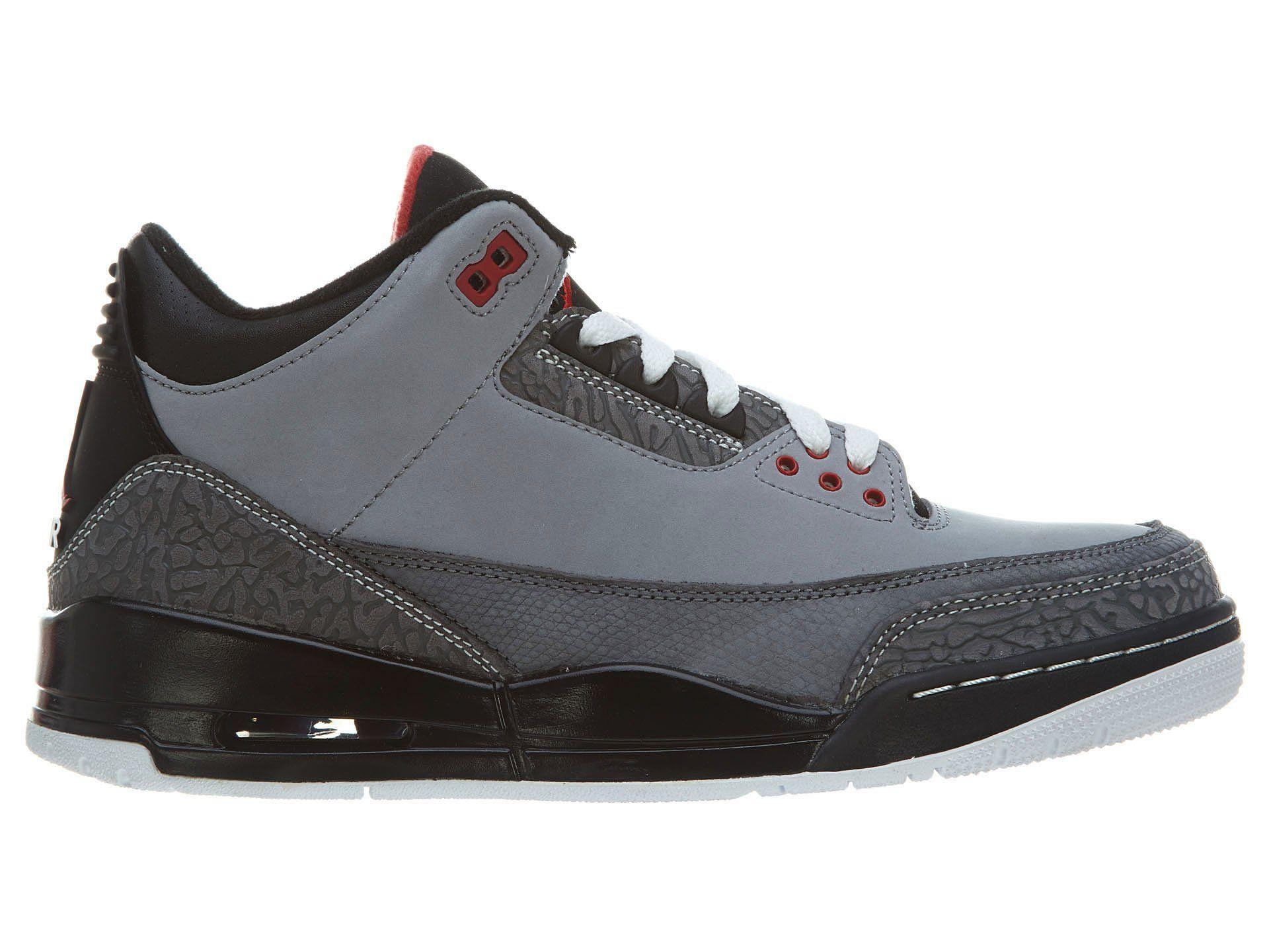 8984bcf1e601 Amazon.com  Nike Men s Air Jordan III Retro Infrared 23 Baskeball Shoe   Clothing