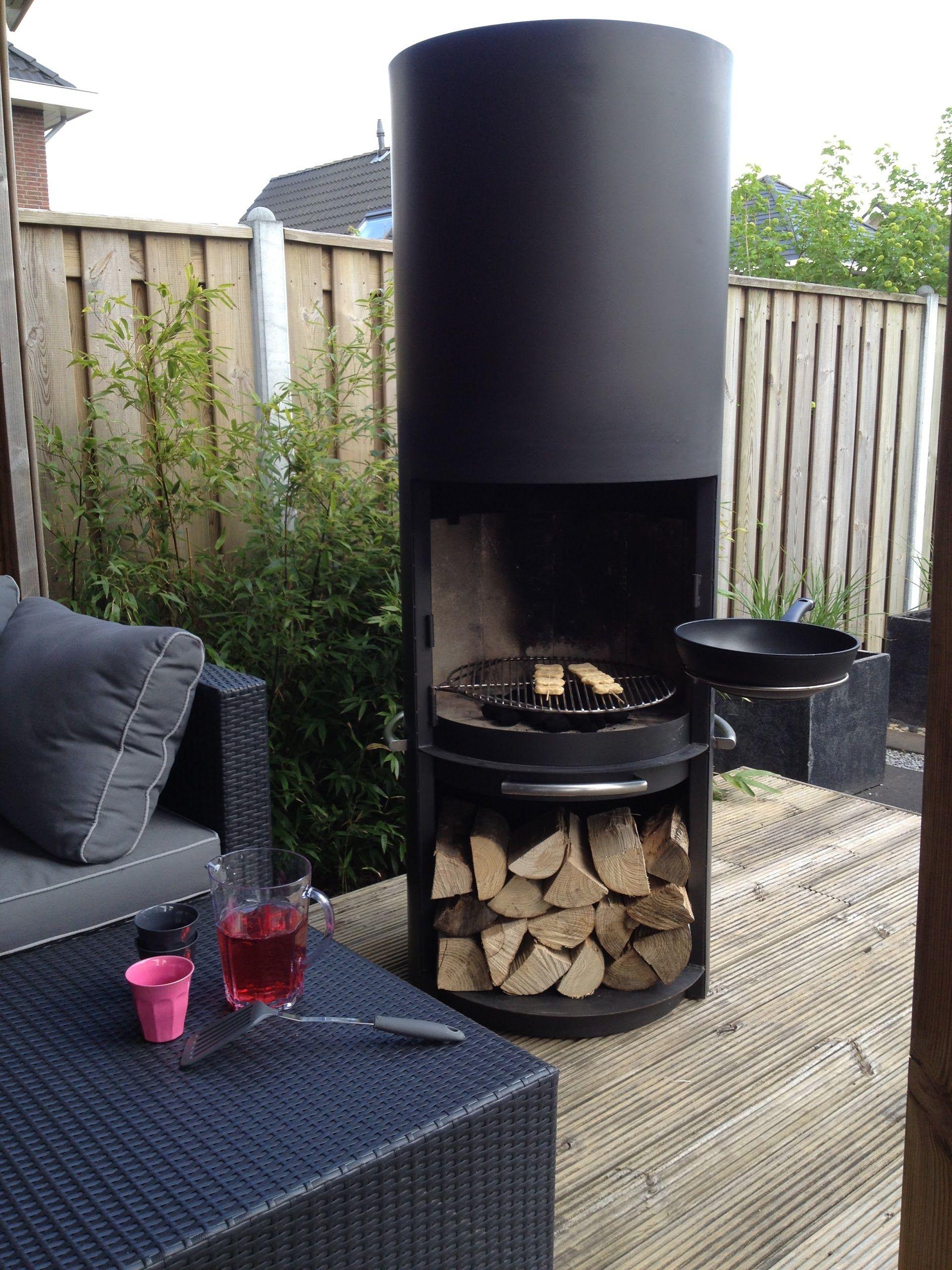 terrassenkamin grill obere terrasse have pinterest g rdhave udeliv og b l. Black Bedroom Furniture Sets. Home Design Ideas