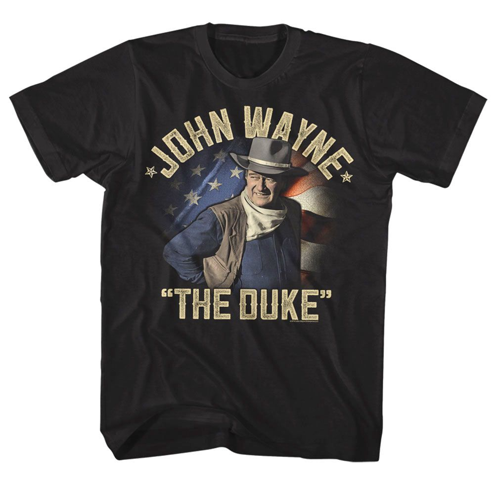 John The Hell I Won/'t Cowboy Film Retro Vintage Men Black Navy Cotton T Shirt