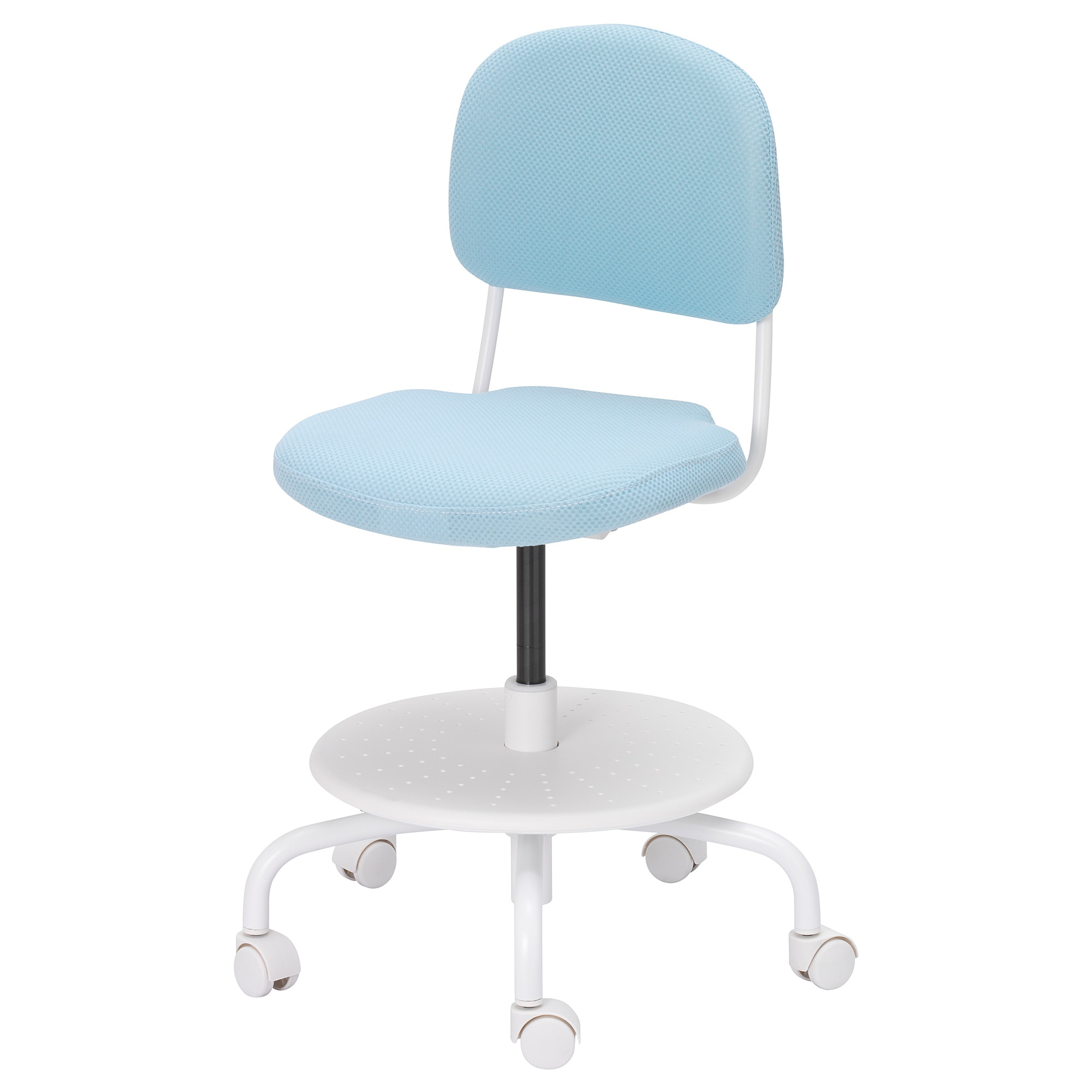 Vimund Child S Desk Chair Light Turquoise Desk Chair Storage