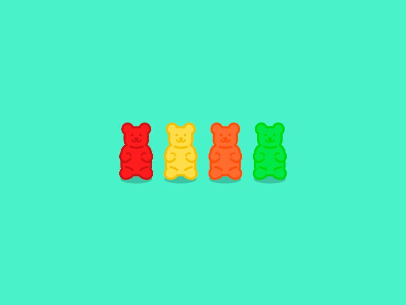 Doodling On Behance Bear Logo Design Gummy Bears Bear Wallpaper