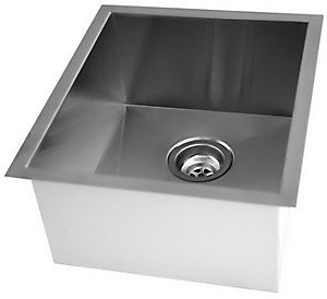 Awesome Acri Tec Stainless Steel Undermount Kitchen Sink With Square Download Free Architecture Designs Embacsunscenecom