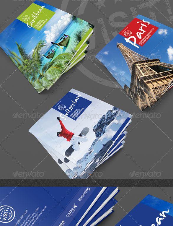 Visit Series Square Tourism Brochure Inspiring Design Pinterest