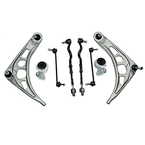 Front Lower Control Arm Tie Rod Ends Sway Bar Links