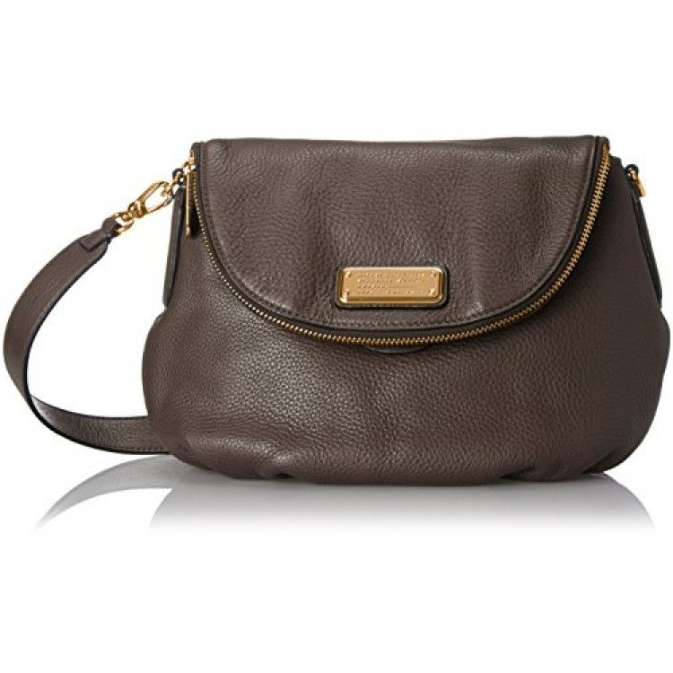 Marc by Marc Jacobs New Q Natasha Bag is our best selling crossbody bag. Crafted from Italian bovine leather, our signature grain leather with a pebbled texture.Pebbled-leather bag with ruched base and fold-over front flap featuring metallic-tone logo plateRemovable adjustable strapOne interior zip