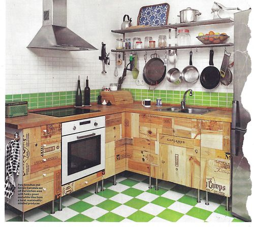 Upcycled Kitchen Cabinets: Upcycled Kitchen