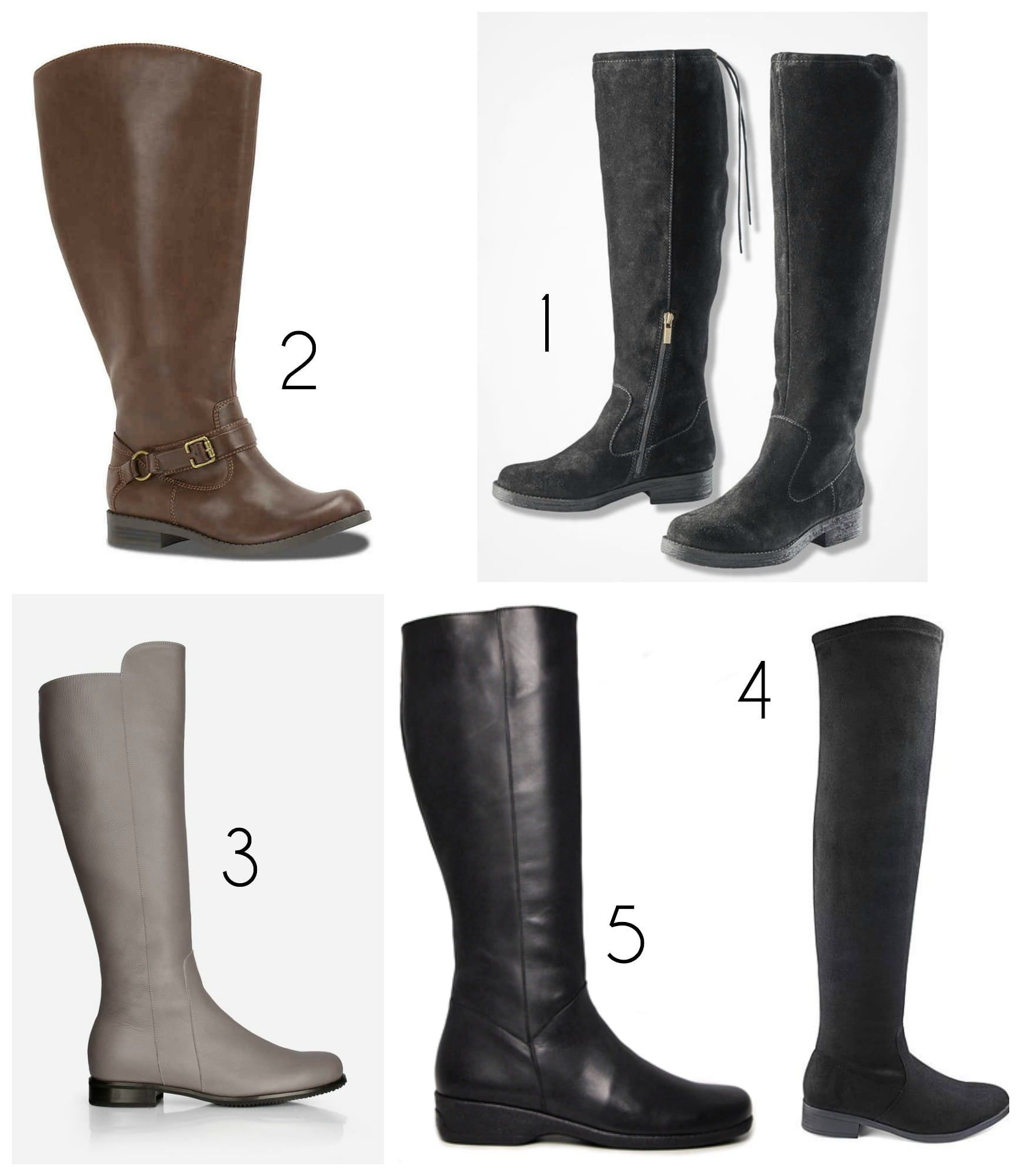 e8dd2dc4d84 Where to Find Stylish Wide Calf Boots | Fall clothes | Wide calf ...