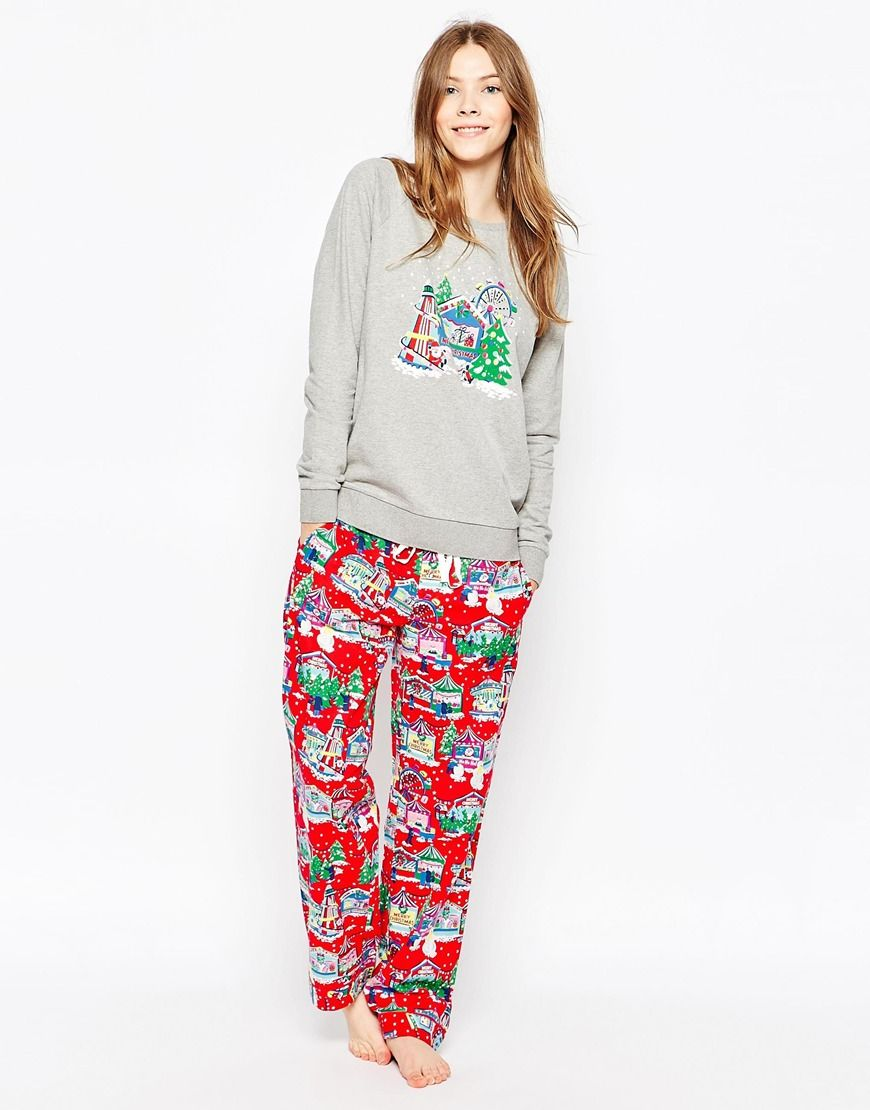 attractive price the cheapest really comfortable Cath Kidston Holidays Pajama Sweater | Pajamas in 2019 ...