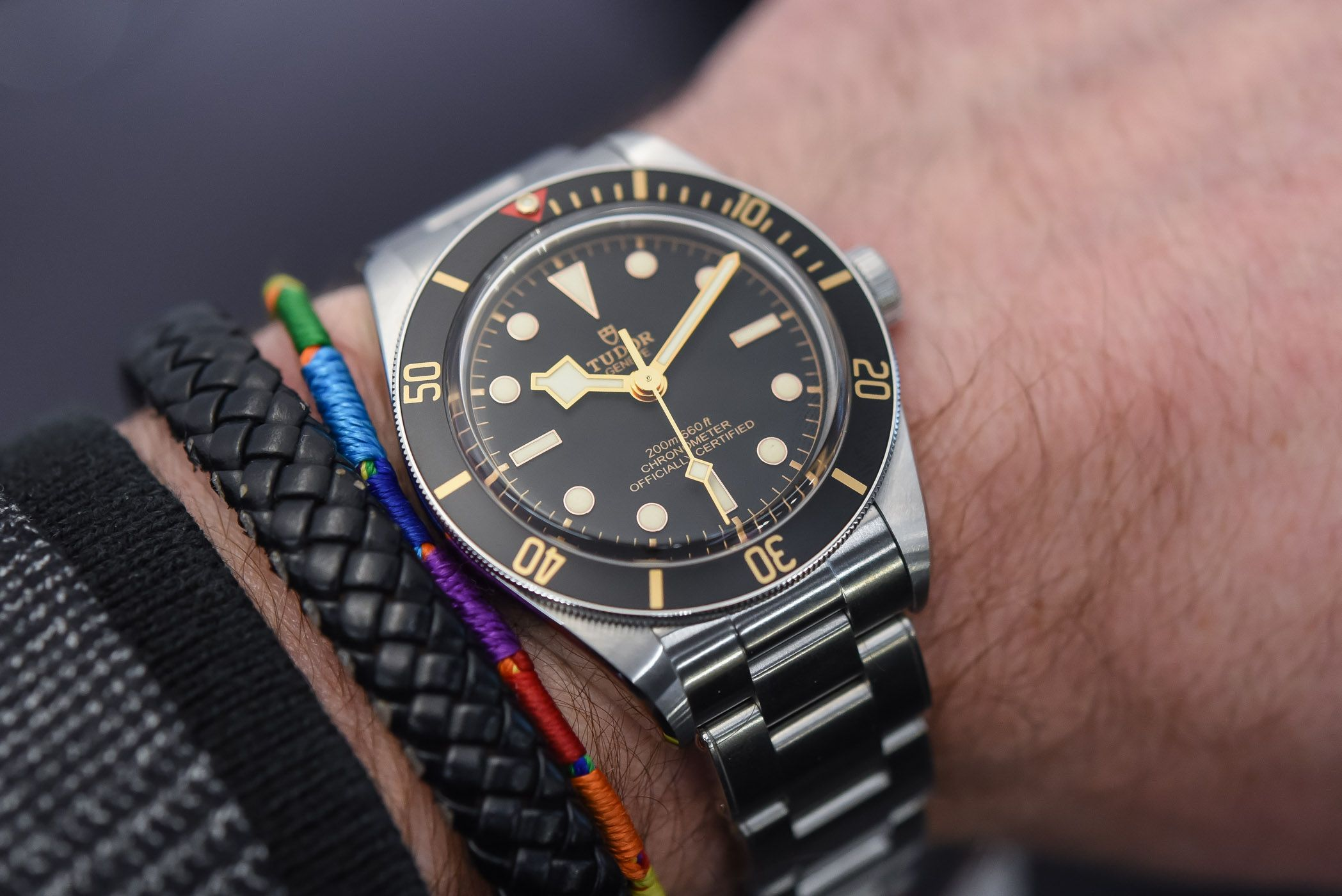 Hands On Tudor Black Bay Fifty Eight 39mm 79030n Baselworld 2018