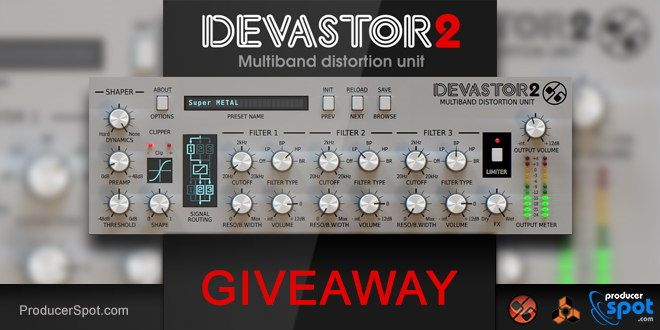 Giveaway! Win D16 Devastor 2 Reason Rack Extension | Music